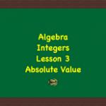 Integers Lesson 3 Link Image